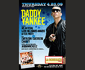 Daddy Yankee at La Bodeguita - Latin Graphic Designs
