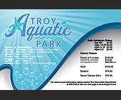 Troy Aquatic Park - tagged with Drop Shadow