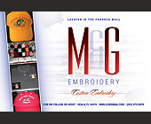 M and G Embroidery - tagged with etc