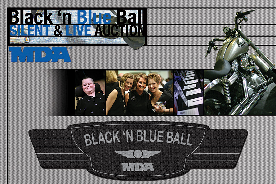 Black 'N Blue Ball Silent and Live Auction