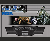 Black 'N Blue Ball Silent and Live Auction - Charity and Nonprofit Graphic Designs