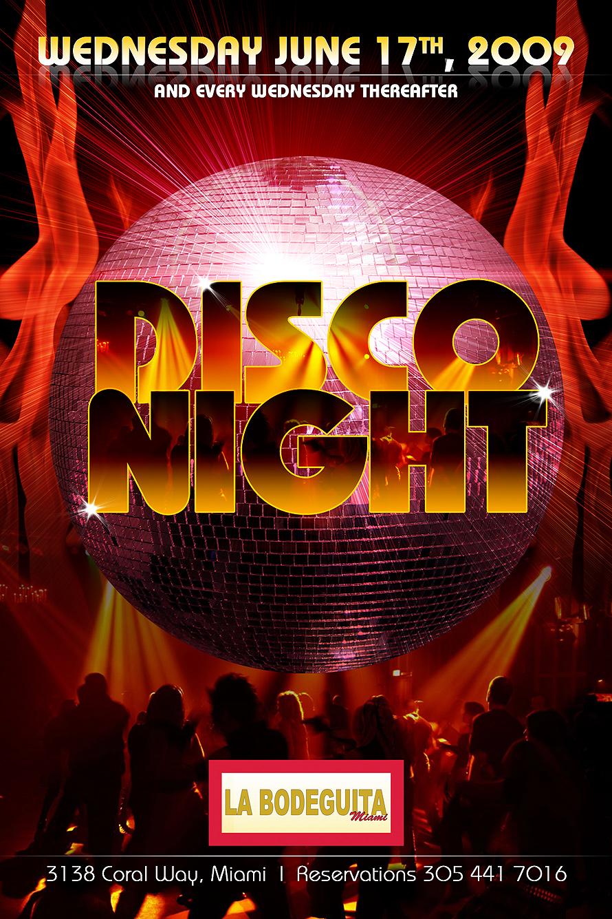 Disco Night at La Bodeguita