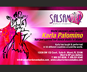 Salsamar Dance Studios - Latin Graphic Designs