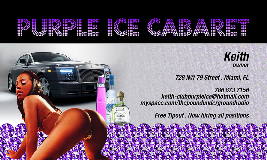 Purple Ice Cabaret