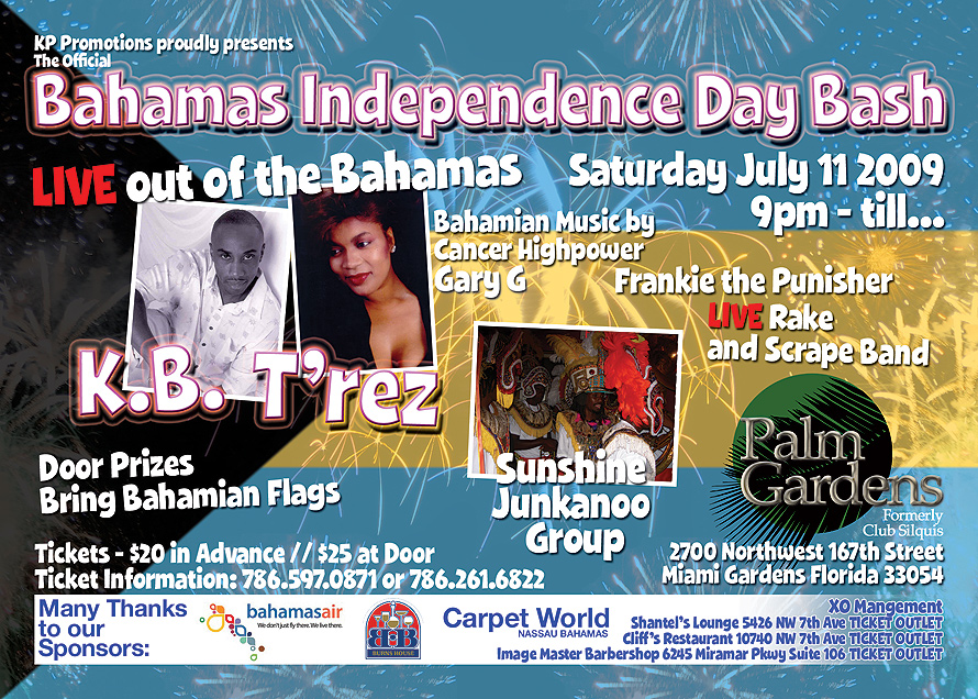 KP Promotions Bahamas Indepence Day Bash