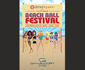 Beach Ball Festival - tagged with sand