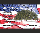MASTIFF Oak Tree Service - tagged with free estimates