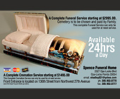 Spence Funeral Home - Family Graphic Designs