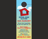 Roofing Siding Solutions  - 4.25x11 graphic design