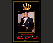Celebrating a Legend Herman K. Williams - Charity and Nonprofit Graphic Designs
