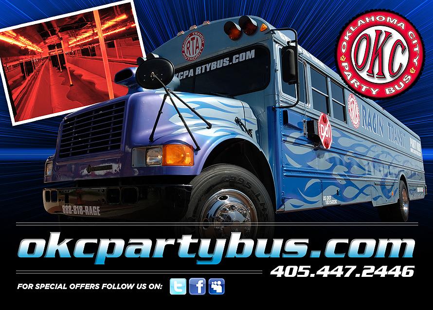 Choose OKC Party Bus