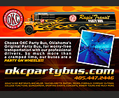Choose OKC Party Bus - Oklahoma Graphic Designs