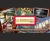 Cuban Night at La Bodeguita - tagged with chairs