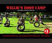 Willie's Boot Camp - Family and Kids Graphic Designs