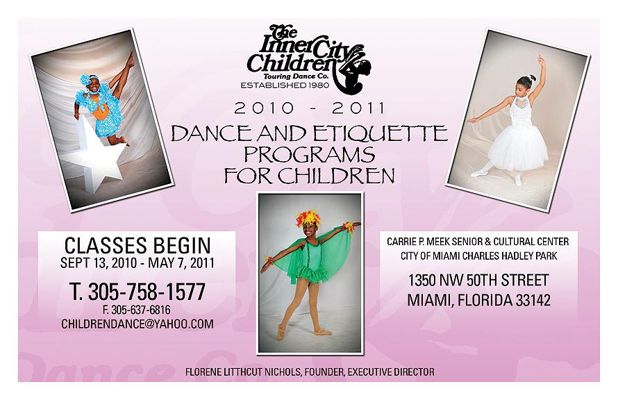 The Inner City Children Touring Dance Co.