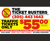 The Ticket Busters - tagged with call now