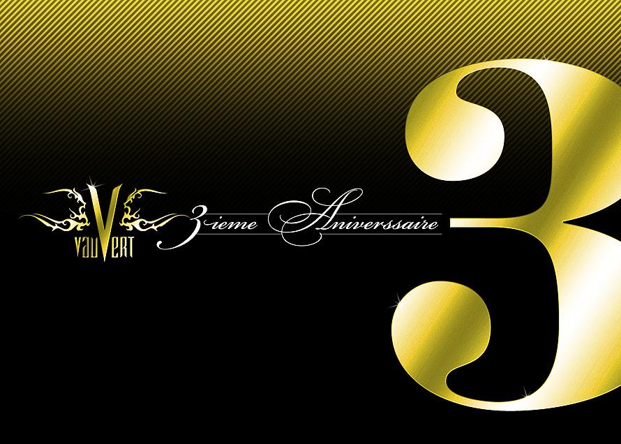Vauvert Third Anniversary