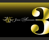 Vauvert Third Anniversary - Montreal Graphic Designs