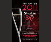 Shula's New Years Eve  - created December 2010