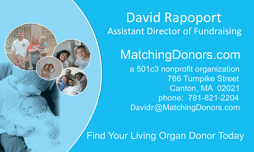 David Rapoport Assistant Director of Fundraising