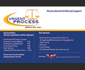 Process Servers & Attorney Support Service - tagged with 45
