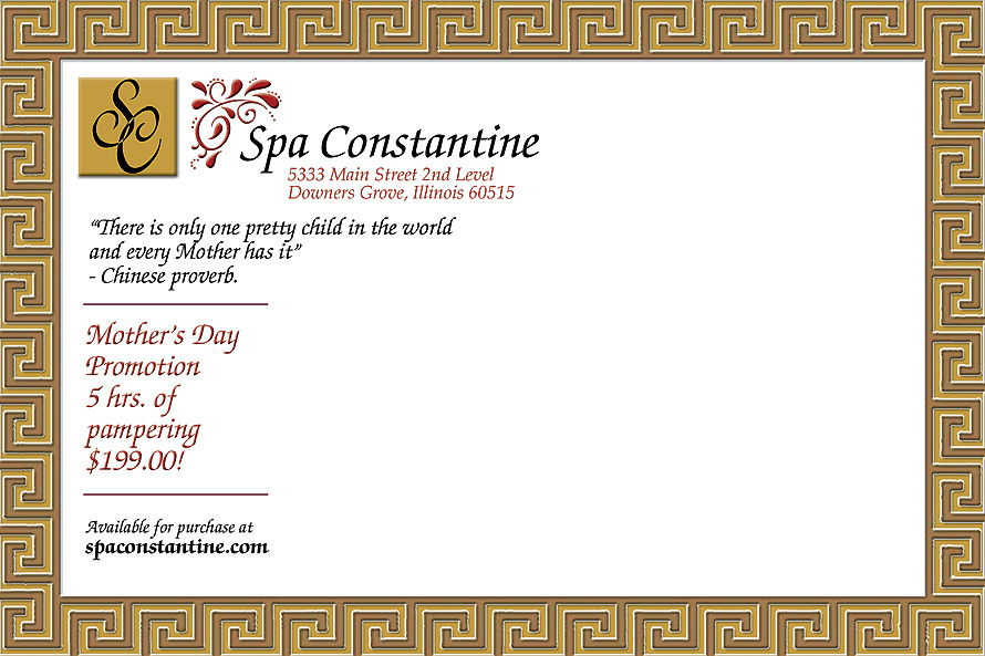 Spa Constantine Special Promotion