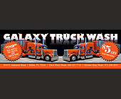 Galaxy Truck Wash - Dallas Graphic Designs