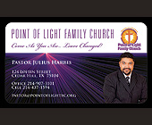 Point of Light Family Church - Texas Graphic Designs