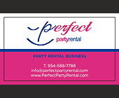 Perfect Party Rental - Professional Services