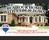 Buy Your Home With A $100.00 Down The Carl Lewis Team - created 2010