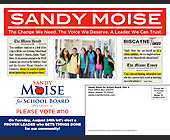 Sandy Moise The Change We Need - 11x8.5 graphic design