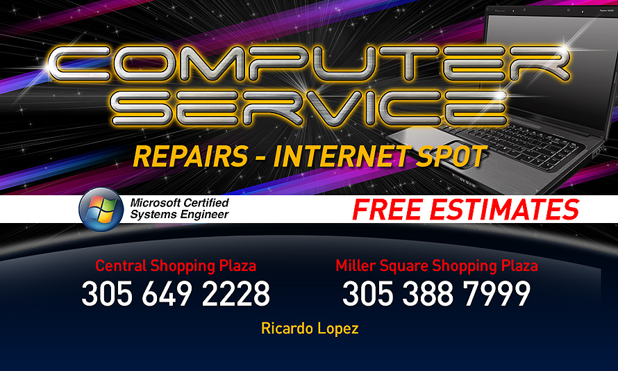 Computer Service Repairs