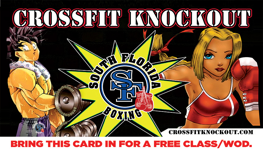 Crossfit Knockout South Florida Boxing