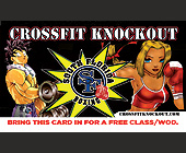 Crossfit Knockout South Florida Boxing - tagged with cartoon character