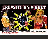 Crossfit Knockout - tagged with cartoon character