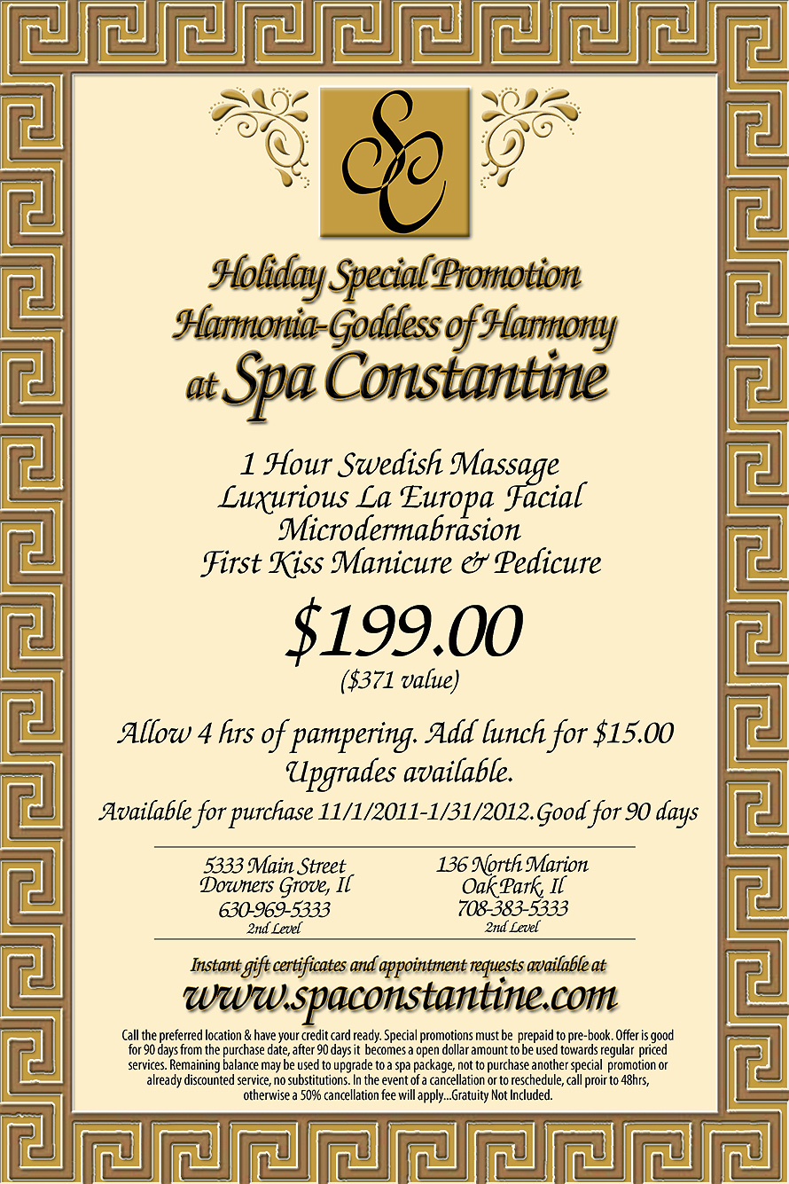 Spa Constantine New Mini Packages