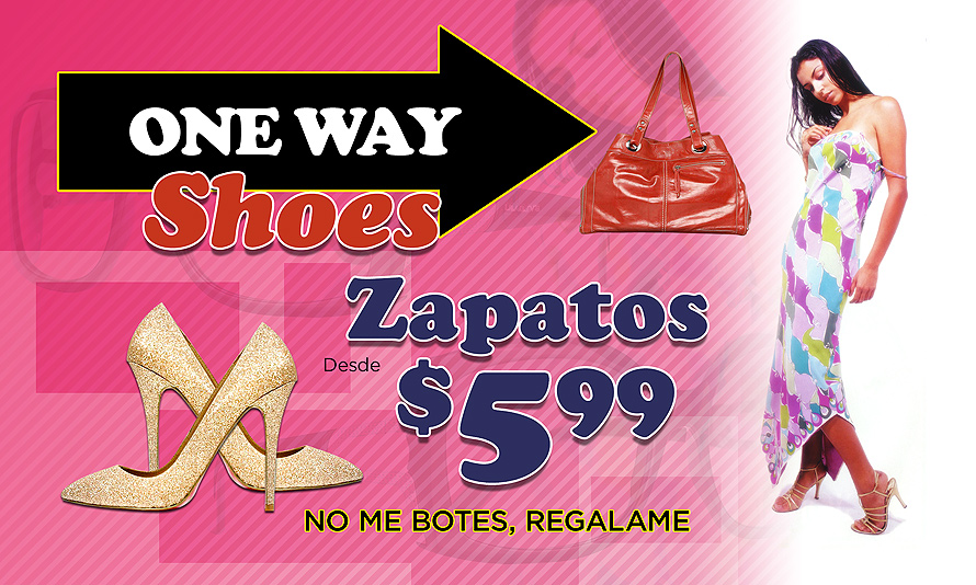 One Way Shoes
