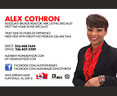 Alex Cothron Associate Broker and Realtor - Alabama Graphic Designs
