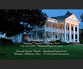 Winston Place National Register Property  - Travel and Lodging Graphic Designs