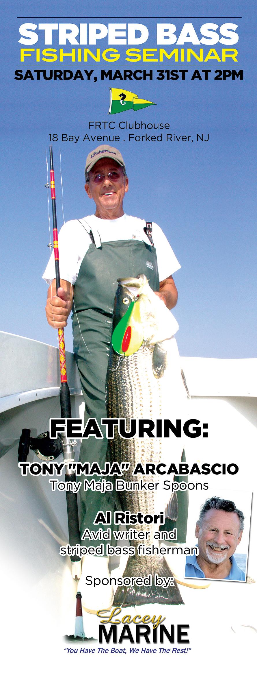 Striped Bass Fishing Seminar