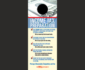 Income Tax Preparation - 1050x2550 graphic design