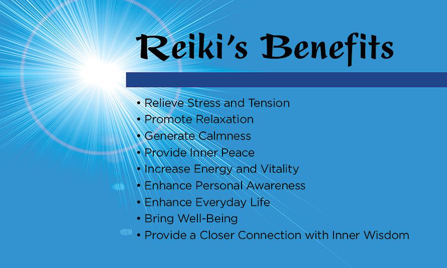 Reiki's Benefits