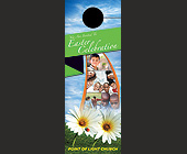 Point of Light Church - Door Hangers Graphic Designs