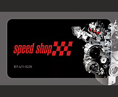 Speed Shop - tagged with red