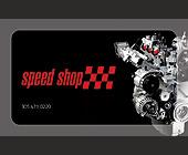Speed Shop - 750x1200 graphic design