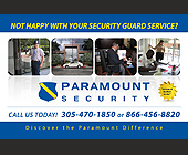 Paramount Security - Professional Services
