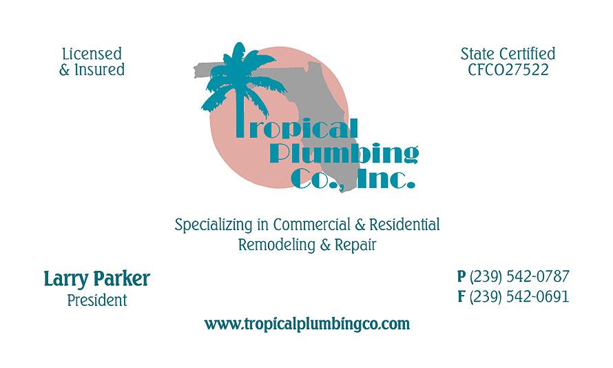 Tropical Plumbing Co. Inc.