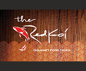The Red Koi - Restaurants Graphic Designs