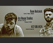Ryan Neitznick Ice House Studios - Music Industry Graphic Designs