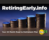 24 Month Road to Retirement Plan - tagged with coins